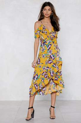 Nasty Gal Easy Come Floral Dress
