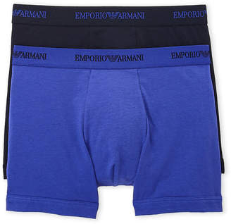 Emporio Armani Two-Pack Cotton Stretch Boxer Briefs