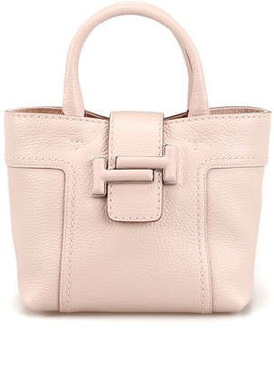 Tod's Tods Double T Leather Mini Cross Body Bag