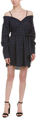Fate By Lfd Flannel Shirtdress