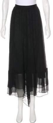 Elizabeth and James Midi Chiffon Skirt