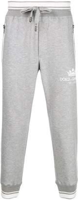 Dolce & Gabbana logo printed joggers