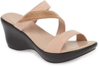 Athena Alexander Peyton Asymmetrical Slide Sandal