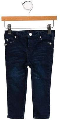 7 For All Mankind Seven Girls' Straight-Leg Denim Bottoms