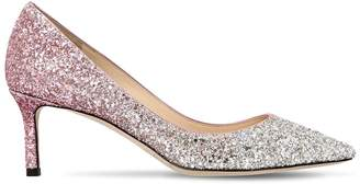 Jimmy Choo 60mm Rory Gradient Glittered Pumps