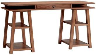 Pottery Barn Teen Customize-It Storage Trestle Desk, Walnut