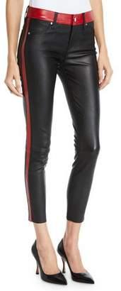 RtA Ryland Two-Tone Skinny Leather Pants