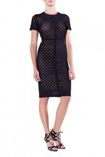 RAQUEL ALLEGRA Cocktail Dress - Black
