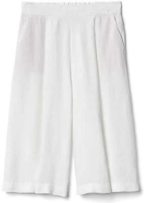 TENCEL linen crop culottes $49.95 thestylecure.com