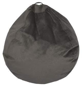 ACEssentials Large Textured Velvet Bean Bag - Reservation Seating