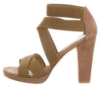 Stuart Weitzman Multistrap Platform Sandals