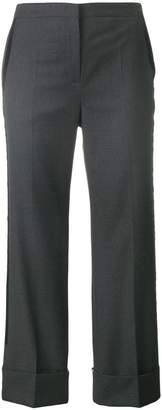No.21 tailored cropped bootcut trousers