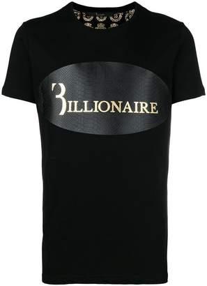 Billionaire Python logo T-shirt