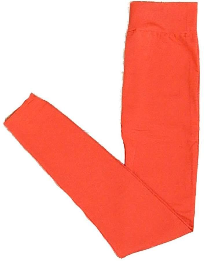Yahada Leggings Fleece Orange