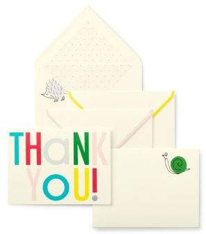 Hey Baby Thank You Notes