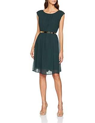 Vestido Fashion Forrest de mujer Apart de dip para verde negro medianoche tinte rwYZrRq