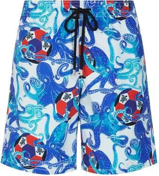 Vilebrequin Okoa Octopus Print Swim Shorts