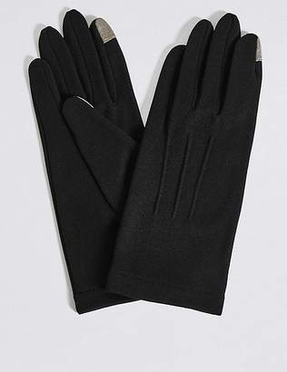 Marks and Spencer Touch Screen Jersey Gloves
