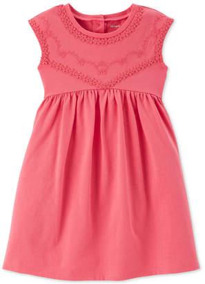 Carter's Toddler Girls Coral Babydoll Dress