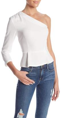 re:named apparel One Shoulder Tie-Top