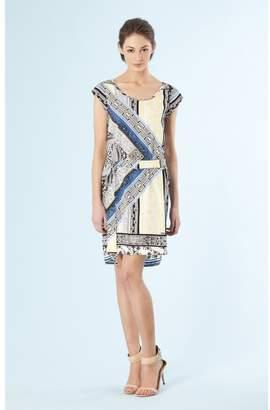Hale Bob Silk Charmeuse Dress