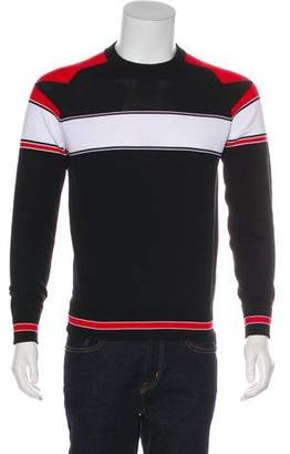Givenchy 2016 Striped-Accented Knit Sweater