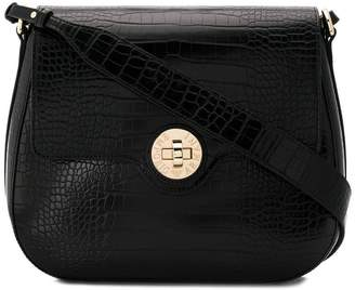 Emporio Armani twist lock shoulder bag