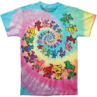 Grateful Dead Men's Spiral Bears Tie Dye T-shirt