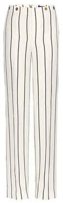Polo Ralph Lauren Striped linen-blend trousers
