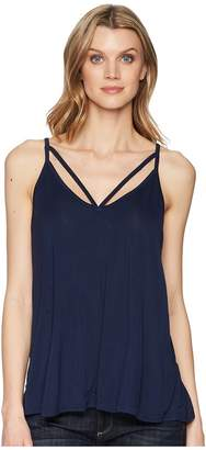 Stetson 1578 Rayon Knit V-Neck Strappy Tank Top Women's Clothing