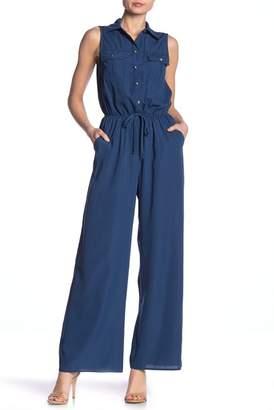 BE BOP Sleeveless Shirttop Jumpsuit