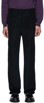 Lanvin Navy Straight Trousers