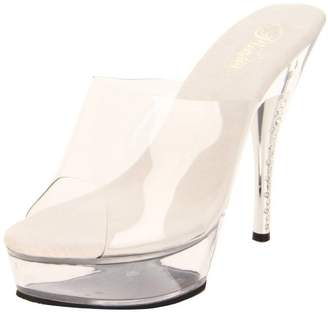 Pleaser USA Women's Diamond-601/C/M Platform Sandal