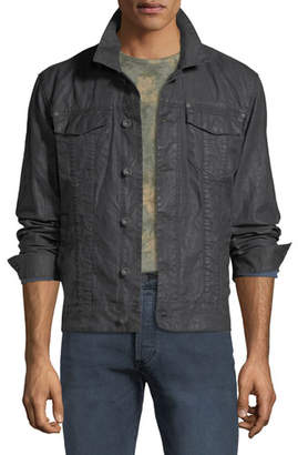 John Varvatos Men's Button-Front Linen Jacket