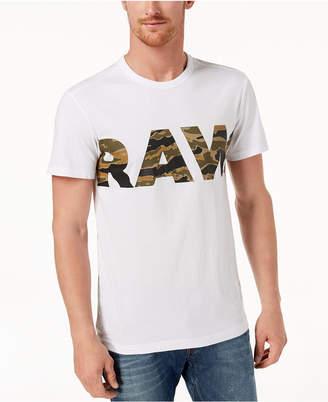 G Star Men's Logo-Print T-Shirt
