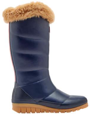 Joules Children's Downton Wellington Boots, Blue