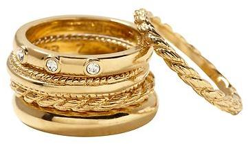 Banana Republic Classics stack ring