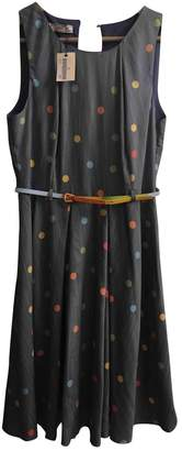 Cerruti Blue Cotton - elasthane Dress for Women