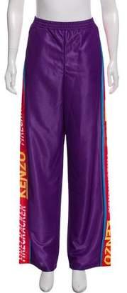 Kenzo High-Rise Wide-Leg Pants w/ Tags