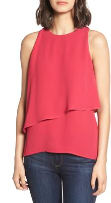 Trouve Tiered Sleeveless Top