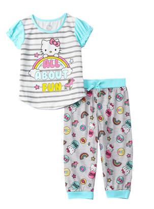 Hello Kitty Character Sleepwear 2Pc Set