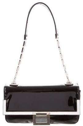 Versace Patent Leather Flap Bag