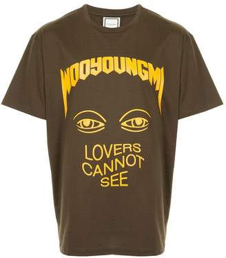 Wooyoungmi printed T-shirt