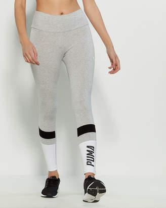 Puma Athletics Logo Color Block Leggings