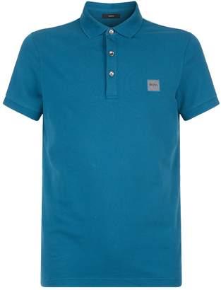 BOSS ORANGE Passenger Logo Polo Shirt