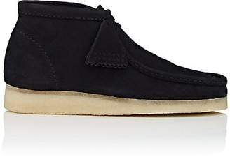 Clarks Men's BNY Sole Series: Nubuck Wallabee Boots - Black