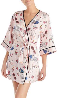 Kate Spade Printed Bridal Robe