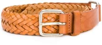 Jean Paul Gaultier Knott intrecciato buckle belt