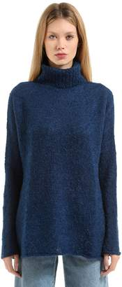 Simon Miller Mohair & Silk Boucle Turtleneck Sweater