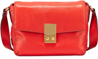 Cole Haan Allanna Leather Crossbody Bag, Red